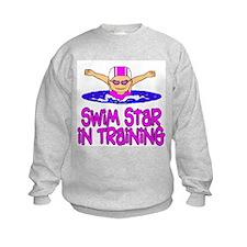 Swim Star in Training Madison Sweatshirt