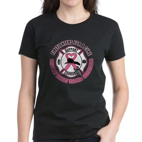 Firefighters ForACure Women's Dark T-Shirt