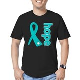 Hope Ribbon Ovarian Cancer T