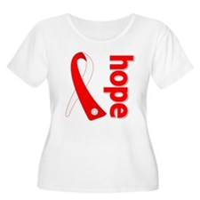 Oral Cancer Hope Ribbon T-Shirt