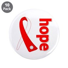 "Oral Cancer Hope Ribbon 3.5"" Button (10 pack)"