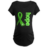 Hope Lime Green Ribbon T-Shirt