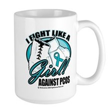 PCOS I Fight Like A Girl Mug