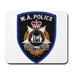 West Australia Police Mousepad