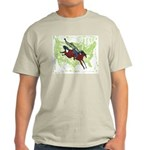 American Cowboy Ash Grey T-Shirt