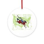 American Cowboy Ornament (Round)