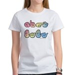 Pastel SIGN BABY SQ Women's T-Shirt