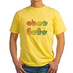 Pastel SIGN BABY SQ Yellow T-Shirt