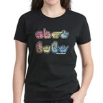 Pastel SIGN BABY SQ Women's Dark T-Shirt