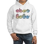 Pastel SIGN BABY SQ Hooded Sweatshirt