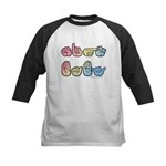 Pastel SIGN BABY SQ Kids Baseball Jersey