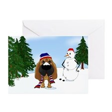 Bloodhound Holiday Greeting Cards (Pk of 10)