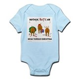 Irish Terrier Christmas Infant Bodysuit