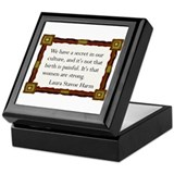 Women Are Strong 2 Keepsake Box
