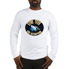 Star Trek USS Enterprise Long Sleeve T-Shirt