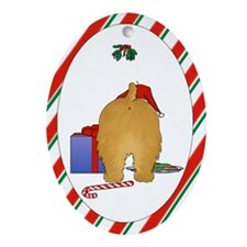 Norfolk Terrier Christmas Ornament (Oval)