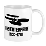 USS Enterprise Small Mug