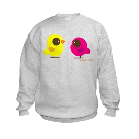 """2 Birds"" Kids Sweatshirt"