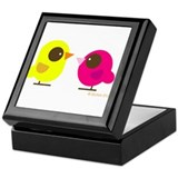 """2 Birds"" Keepsake Box"