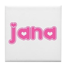 """Jana"" Tile Coaster"