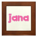 """Jana"" Framed Tile"