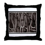 Ropes for the Rigging BW2 Throw Pillow