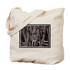 Ropes for the Rigging BW2 Tote Bag