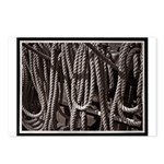 Ropes for the Rigging BW2 Postcards (Package of 8)