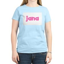 """Jana"" Women's Pink T-Shirt"