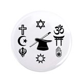 "multifaith button A@L 4.66"" Button"
