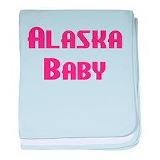 Alaska Baby (pink) Infant Blanket
