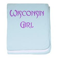 Wisconsin Girl Infant Blanket