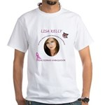 Lisa Kelly NBCF White T-Shirt