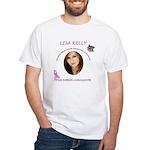 Lisa Kelly NBCF White T-Shirt