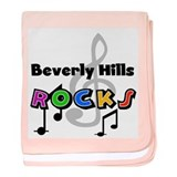 Beverly Hills Rocks Infant Blanket
