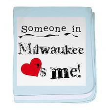 Milwaukee Loves Me Infant Blanket