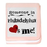 Philadelphia Loves Me Infant Blanket