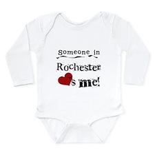 Rochester Loves Me Long Sleeve Infant Bodysuit