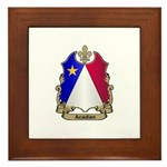 Acadian Shield Framed Tile