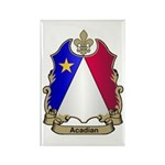 Acadian Shield Rectangle Magnet