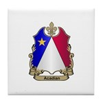 Acadian Shield Tile Coaster