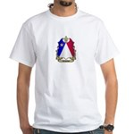 Acadian Shield White T-Shirt