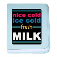 Nice Cold Ice Cold Milk Infant Blanket