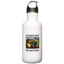 Support Your Local Farmer Water Bottle