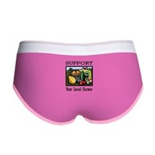 Support Your Local Farmer Women's Boy Brief