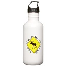 I saw a Moose in the Adironda Water Bottle