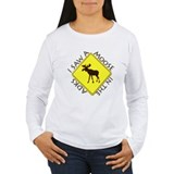 I saw a Moose in the Adironda T-Shirt