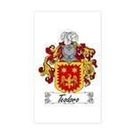 Teodoro Coat of Arms Rectangle Sticker