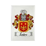 Teodoro Coat of Arms Rectangle Magnet (100 pack)