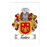 Teodoro Coat of Arms Postcards (Package of 8)